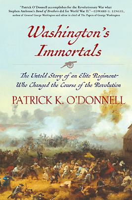 cover of 'Washington's Immortals'