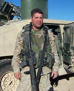 Patrick K. O'Donnell in Fallujah